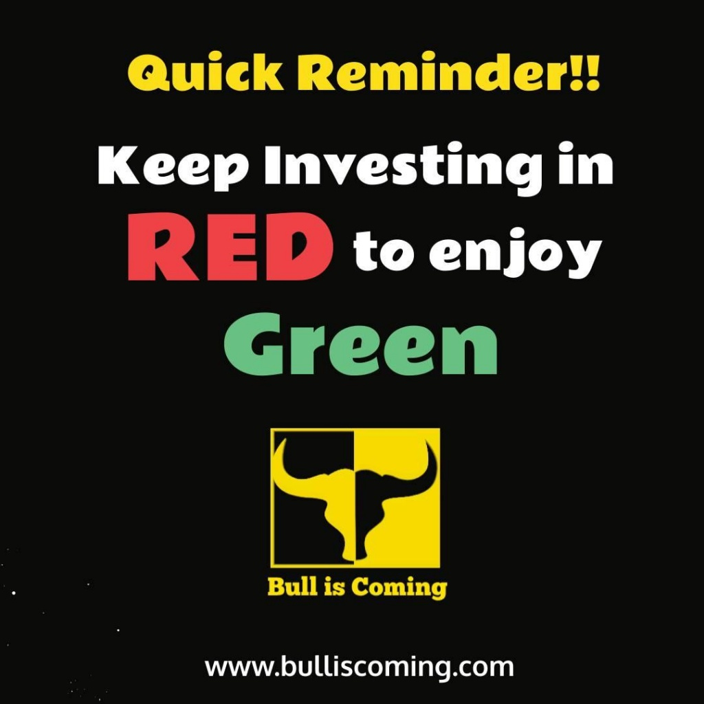 invest in red to enjoy green