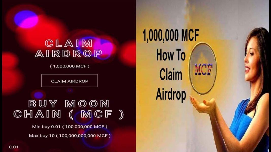 Moon Chain Finance Airdrop - Claim Free 1 Million MCF